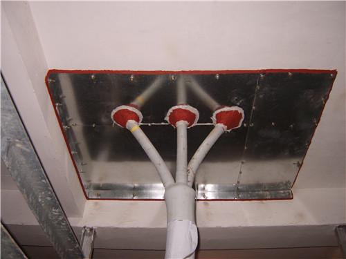 电缆夹层防火封堵